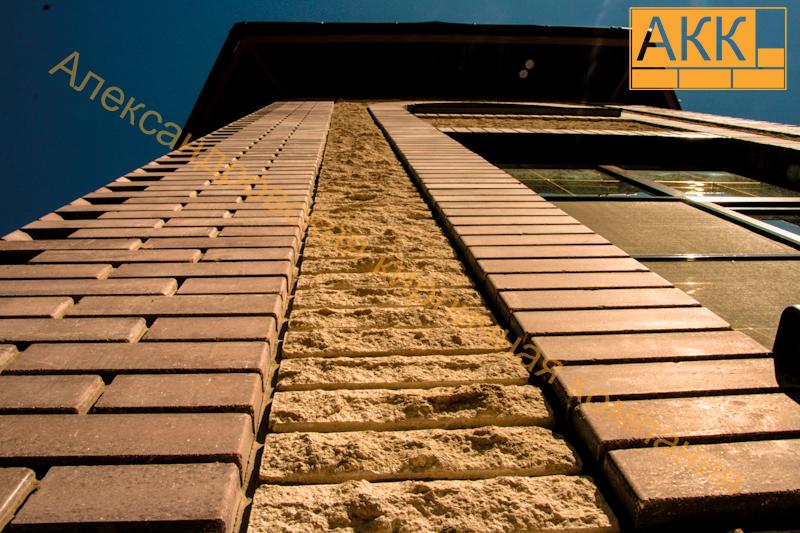 Облицовочный кирпич, декорированый кирпич, гиперпрессованый кирпич - александровская кирпичная компания