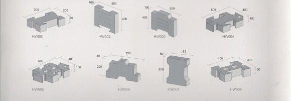 Оборудование для производства кирпичей и блоков