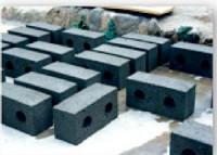 Описание и чертежи пресс-формы для производства блоков строительных.